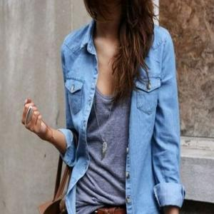 3 Ways to Wear a Chambray Shirt