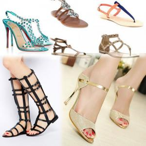 6 Hottest Summer Sandal Trends 2014