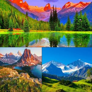7 Scenic and attractive mountains around the world