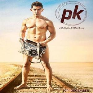 Aamir's Upcoming Film PK Poster