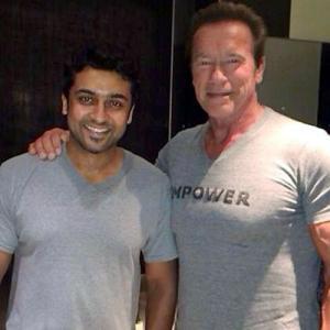 Arnold Schwarzenegger's India Exploit
