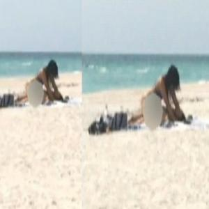 Couple Arrested For Having S*X On Beach!!!