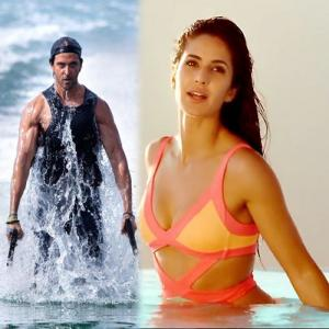 Hrithik and Katrina's hot looks