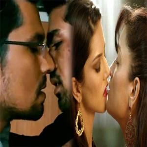 Top 5 Bollywood Star's Lip-lock