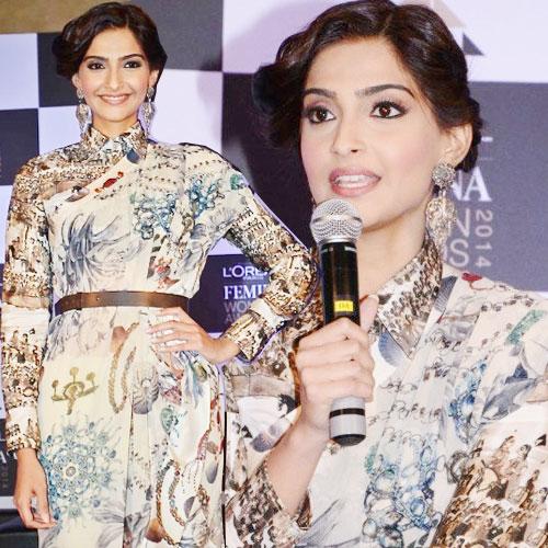 Sonam announces 'L'Oreal Femina Women Awards 2014' , bewakoofiyaan,  sonam kapoor,   ayushmann khurrana,  rishi kapoor,   l'oreal paris femina women awards 2014,  bollywood,  bollywood gossips,  entertainment