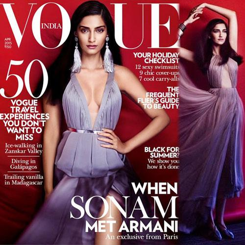 Sonam Kapoor's Bold Photo shoot, sonam kapoor bold photo shoot,  sonam kapoor features on the cover of vogue india,  sonam kapoor vogue shoot,  sonam kapoor,  fashion trends 2015,  fashion trends,  ifairer