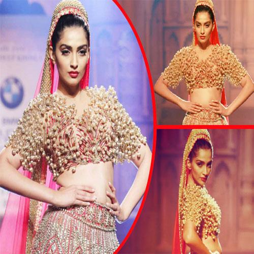 Sonam Kapoor's bride looks, sonam kapoors bride looks,  sonam kapoor turned a varanasi bride,  sonam kapoor,  fashion trends 2015,  fashion trends,  ifairer