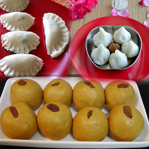 5 Special Recipes for Ganesh Chaturthi, ganesh chaturthi 2020,  ganesh chaturthi,  #ganeshchaturthi2020,  #ganpatibappamorya,  #ganesha #ganeshotsav2020 #ganeshachaturthi,  ganesh chaturthi special,  spcl recipes for ganesh chaturthi,  choco-coco modak,  sweet pongal,  ellu kozhukattai,  besan ladoo,  boondi ladoo,  recipes,  desserts,  drinks,  main course,  tea time recipes,  ifairer