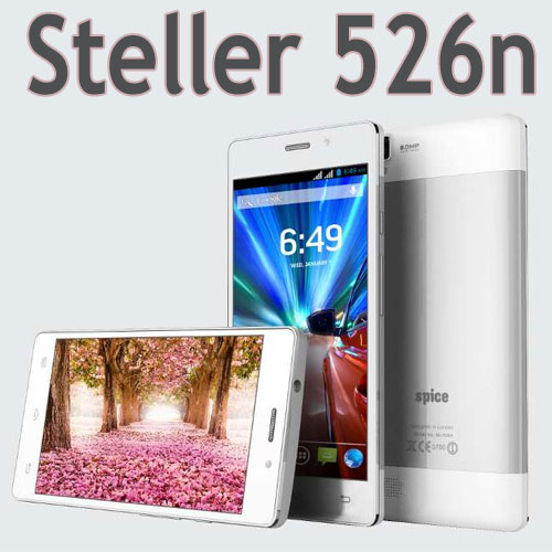 Spice launch Stellar 526n with Octa Core