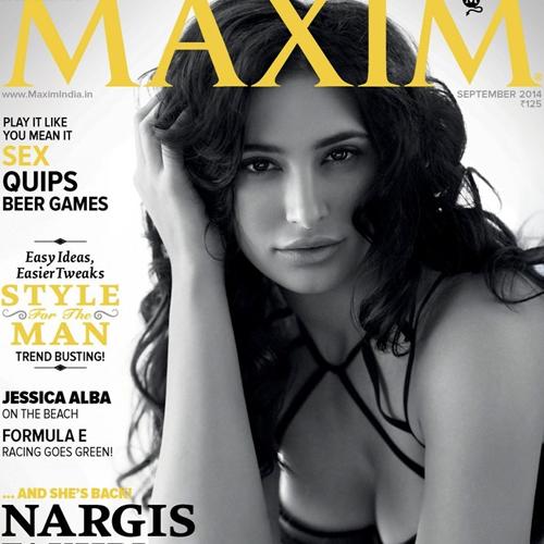 Spicy Nargis On Maxim India Cover!, nargis fakhri,  sexy nargis fakhri,  hot nargis fakhri,  nargis fakhri in bikini,  maxim india magazine,  nargis fakhri on maxim india,  nargis fakhri photoshoot for maxim india magazine,  bollywood,  bollywood news,  bollywood gossips,  bollywood actress nargis fakhri photoshoot,  ifairer