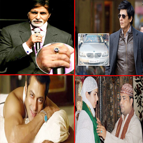 Strange superstitions of superstars