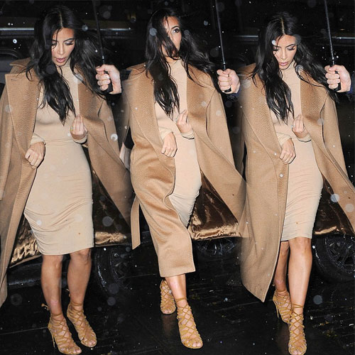 Stunning Kim in New York rain, stunning kim in new york rain,  kim kardashian,  hollywood news,  hollywood gossips,  latest news,  ifairer