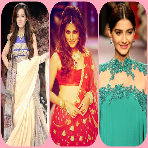 Stunning looks of divas at IIFW 2015, stunning looks of divas at iifw 2015,  ramp walk at india international jewellery week 2015,  fashion trends 2015,  ifairer