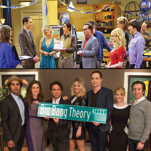 The Big Bang Theory Alley with The Celebration Experimentation, the big bang theory alley,  200th episode of bbt,  the celebration experimentation,  sheldons birthday celebration,  adam west guest appears in big bang theory,  the big bang theory day,  entertainment,  hollywood,  ifairer