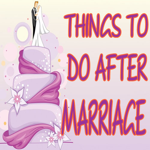 Things to Do After Your Wedding Is Over , things to do after your wedding is over,  relationship, family