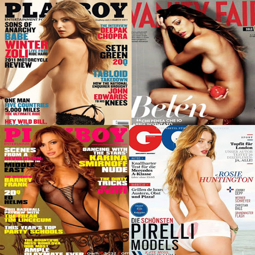 top 10 sexy topless celebrities magazine cover 1 72740 pic1 - Top 100 Topless Celebrities