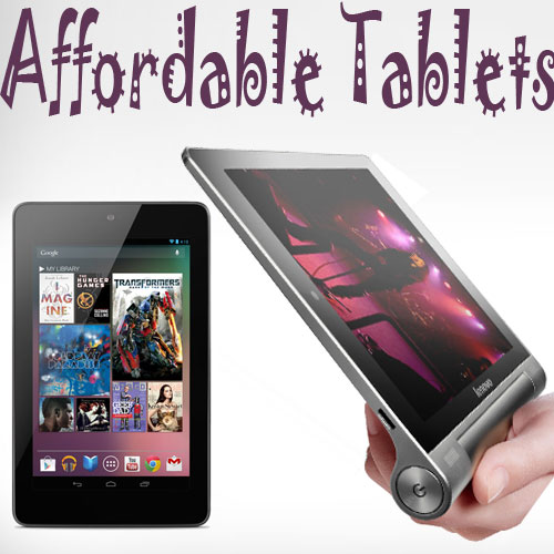 Top 5 affordable tablets