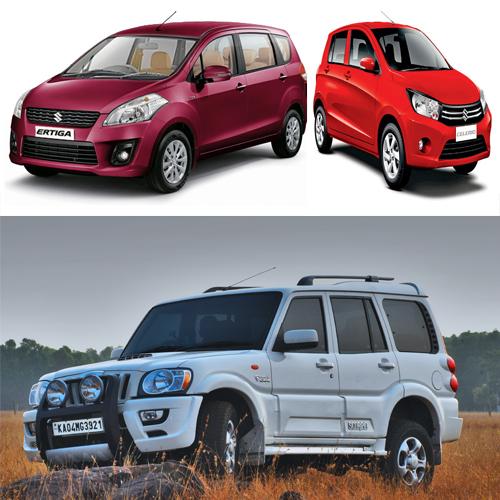 Top 5 Car Sales In Month Of June  , hyundai motor india ltd,  complete coverage of budget,  santa fe,  maruti suzuki india,  sx4,  ritz,  estilo,  mahindra and mahindra,  top car sales in month of june,  sales in month of june,  automobile news,  cars june sale