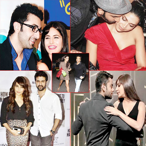 Top 5 Flings in B-town!, recent affairs in bollywood,  love affairs in bollywood,  affairs,  who dating whom in bollywood,  bipasha basu and harman baweja,  virat kohli and anushka sharma,  uday chopra and nargis fakhri,  ranbir kapoor and katrina kaif,  deepika padukone and ranveer singh,  bollywood gossips,  bollywood news,  bollywood