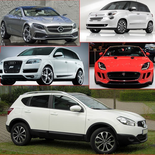 Top 5 Luxury Cars for 2014!, top 5 luxury cars of 2014,  nissan qashqai,  nissan qashqai price,  audi q7,  audi q7 price,  mercedes s-class coupe,  mercedes s-class coupe price,  jag f-type coupe,  jag f-type coupe price,  fiat 500x,  