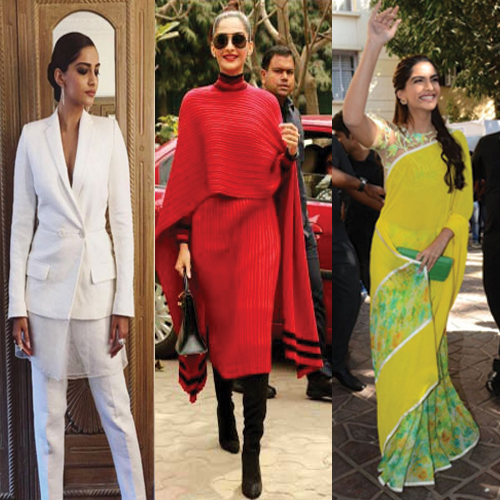 Top 5 Sonam Kapoor's Outfit at Neerja Promotions, sonam kapoor outfit at neerja promotions,  top sonam kapoor outfit,  sonam kapoor fashion statement at neerja promotion,  stunning sonam kapoor looks at neerja promotion,  sonam kapoor style statement,  fashion,  fashion tips,  ifairer