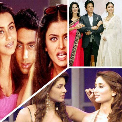 Top 5 Most famous cat-fight in Bollywood, popular cat-fights in bollywood,  catfights in bollywood,  bollywood divas cat-fight,  most famous cat-fight in bwood,  cat-fight in bollywood,  bollywood news,  bollywood gossip,  latest bollywood updates,  ifairer