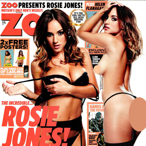 Topless Rosie for Zoo Magazine, topless rosie for zoo magazine,  rosie jones,  zoo magazine,  fashion tips,  fashion trends,  fashion accessories,  fashion trends 2014,  fashion,  nude photoshoot