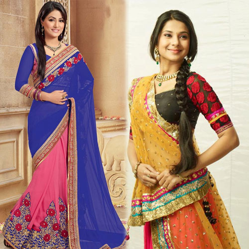TV Celebs best ways to drape a saree, tv celebs best ways to drape a saree,  best ways to drape a saree,  stylish way to wear saree,  fashion tips for saree,  tv actress stylish way to wear saree,  saree trends,  latest fashion tips of saree,  fashion tips,  different ways to drape a saree,  ifairer