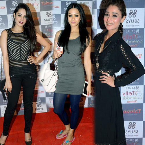 TV hottie at telly calender event  , tv hottie at telly calender event,  telly calender event,  tv celebs at telly calender event,  fashion trends 2015,  fashion trends,  ifairer
