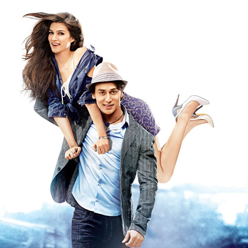 Two different music companies collaborates for HEROPANTI! , two different music companies collaborates for heropanti,  heropanti,  whistle baja,  jackie shroff,  kirti sanon,  tiger shroff,  bollywood,  bollywood gossips,  bollywood entertainment,  t series,  t series and saregama