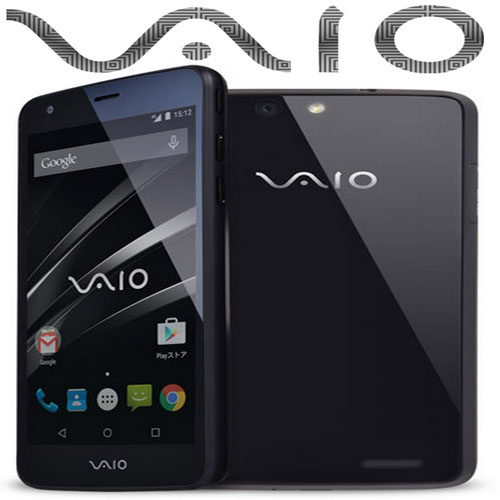 Vaio launched android smartphones