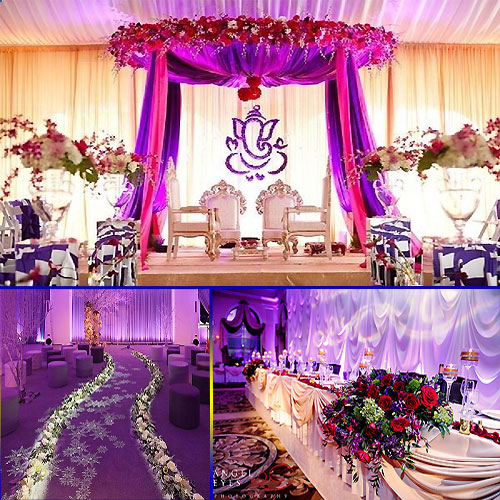 Wedding hall decoration ideas slide 1 for Hall decoration pictures