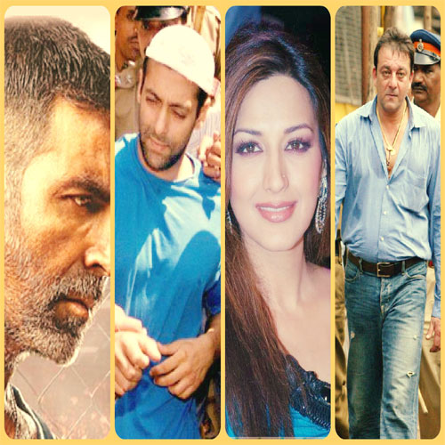 Why Bollywood celebs went to jail , why bollywood celebs went to jail,  actors turned to crime off-screen,  bollywood news,  bollywood gossip,  latest bollywood updates,  ifairer