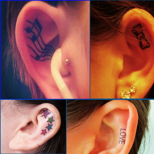 Will you Go inking your EAR?, will you go inking your ear,  ear inking ear tattoo,  tattoo,  ear,  fashion trends,  tattoo trends,  trends,  tattoo,  newest trend in body art,  body,  body art,  miley cyrus,  cara delevingne,  rihanna,  model catherine mcneil,  fashion,  fashion trends 2014