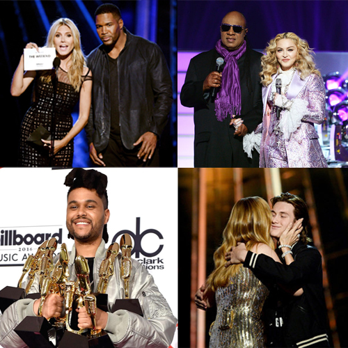 Winners at Billboard Music Awards 2016, winners at billboard music awards 2016,  billboard music awards 2016,  celine dion,  adele,  fetty wap,  justin bieber,  one direction,  the weeknd,  taylor swift,  luke bryan,  walk the moon,  shut up and dance,  entertainment,  hollywood,  ifairer