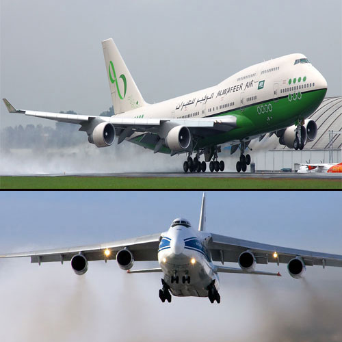 Top 5 World's largest aircraft, the top 5 largest aircraft in the world,  top 5 largest aircraft
