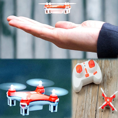 World's smallest drone , world smallest drone,  his tiny flying machine is claimed to be perfect for airborne stunts,  smallest fly machine,  general articles,  ifairer