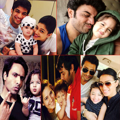 Drool Worthy Kids Of 9 Popular Tv Celebs Slide 1 Ifairercom