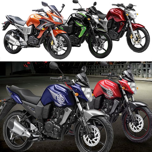 Yamaha launch Fazer, FZ and FZ-S in three new colours, yamaha launch fazer,  fz and fz-s in three new colours,  yamaha,  fz ,  fz-s,  fazer,  new motor bikes,  yamaha bikes in new colours,  automobile news