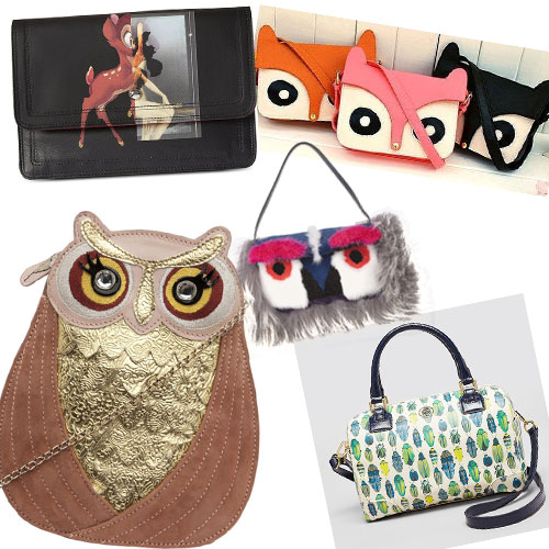 Your ANIMAL love on BAGS..., funky chunky animal bags,  animal bags,  bags,  ready for your cuddle,  5 your animal love on bags,  cuddle,  teddy day, animal bags, anna dello russo, baguette, bambi, bloomingdales, bugs, charlotte olympia, dogs, fendi, fendi baguette, fendi monster,  fur bags, givenchy, karl lagerfeld, marc by marc jacobs, marc jacobs, monster, neiman marcus, net a porter, nordstrom, patterned bags, print bags, tory burch,  fashion,  fashion accessories